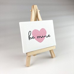 Be Mine Tiny Canvas Picture